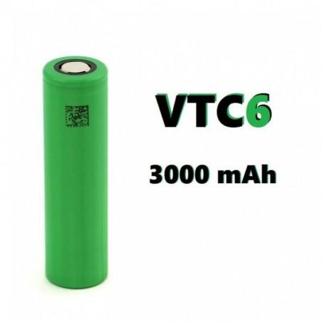 BATERIA SONY MURATA 18650 VTC6 3000mAh 30A