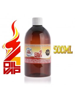 BASE VAPEO OIL4VAP 500ML VG/PROPANEDIOL 100% VEGETAL SIN NICOTINA