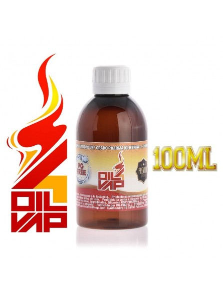 BASE VAPEO OIL4VAP 100ML SIN NICOTINA VG/PROPANEDIOL 100% VEGETAL