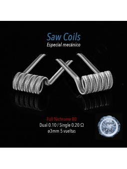 SAW COILS SPIRIT COILS