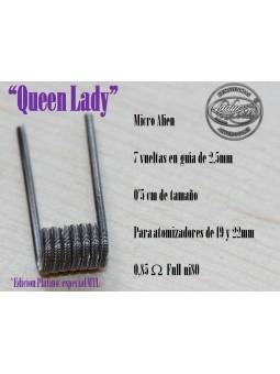LADY COILS QUEEN LADY (micro alien) 1 RESISTENCIA