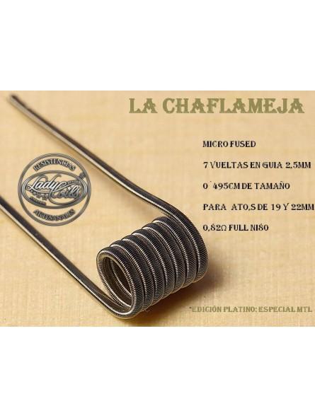 LADY COILS LAS CHAMAFLEJAS (micro fused) 1 RESISTENCIA