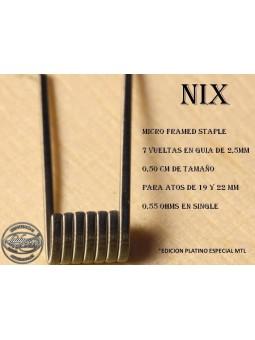 LADY COILS - NIX (MICRO FAMED STAPLE) 1 RESISTENCIA