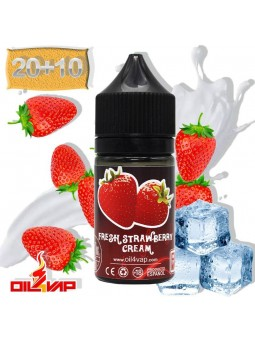 E-LIQUID OIL4VAP FRESH STRAWBERRY CREAM PREMACERADO 20ML