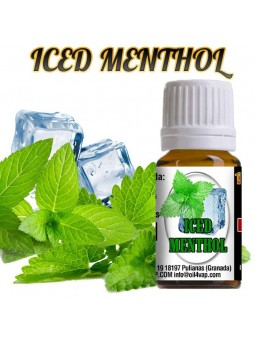 Aroma vapeo OIL4VAP ICED MENTHOL 10ML