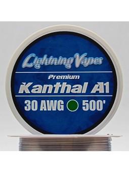 BOBINA KANTHAL A1 150Metros Lightning Vapes 30 AWG