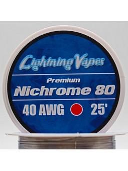 BOBINA NICHROME 80  7,5Metros L. Vapes...