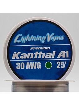 BOBINA KANTHAL A1 7,5Metros Lightning Vapes 26/28/30...