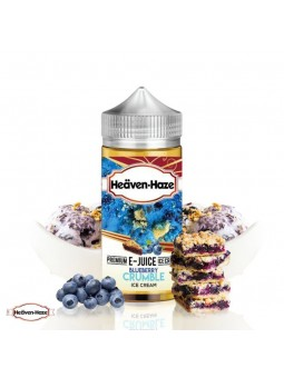 Heaven Haze - Blueberry Crumble (100ml)