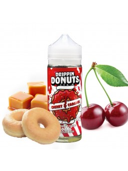 DRIPPING DONUTS - CHERRY AND CARAMEL (100ML)
