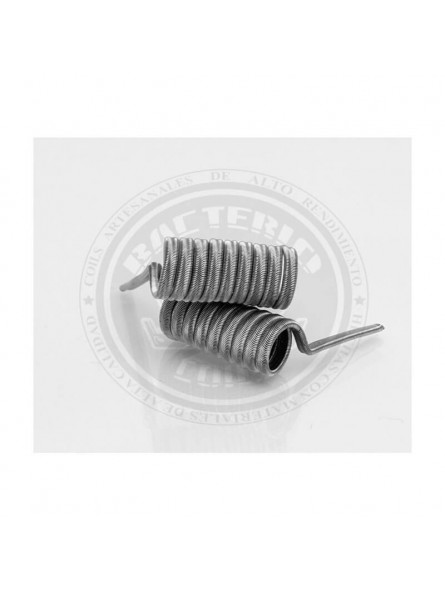 BACTERIO INK 0,30ohms Kanthal A1/N80  (COIL ARTESANAL)