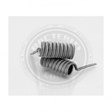 BACTERIO INK 0,30 ohms Kanthal A1/N80 (COIL ARTESANAL)