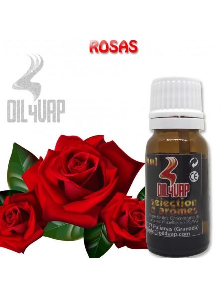 Aroma vapeo OIL4VAP ROSAS 10ML