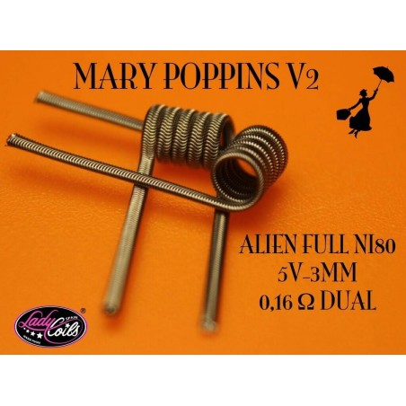 LADY COILS MARY POPPINS V2 (ALIEN)