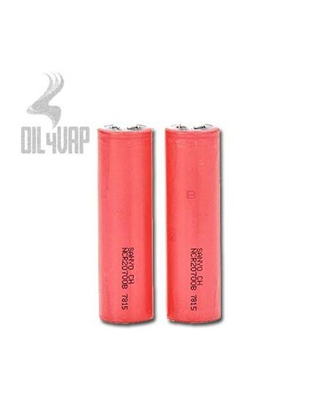 PACK BATERIAS SANYO NCR20700B 4250Mah 15A + BLISTER (SOLO MODS ELECTRONICOS)