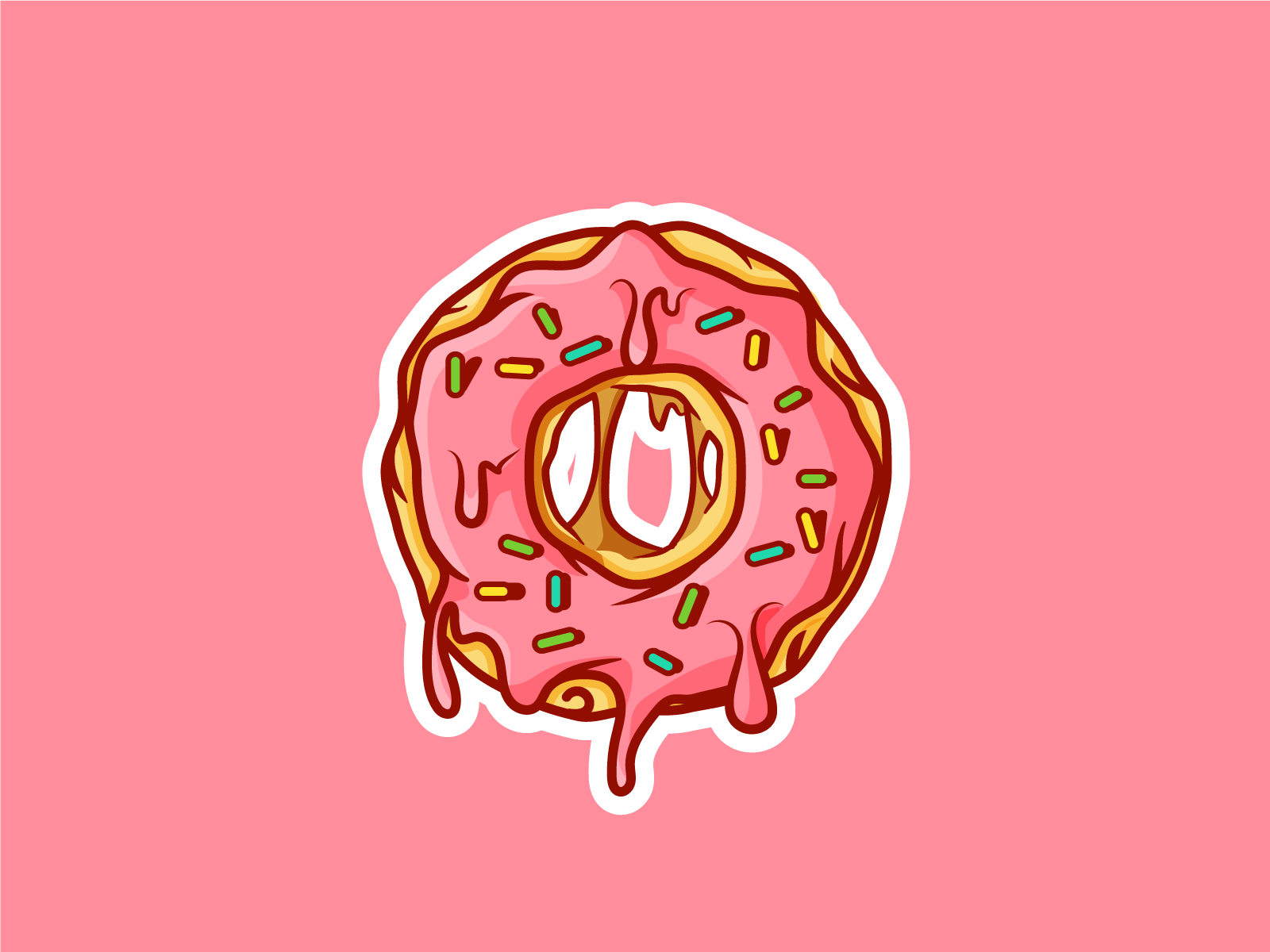 DRIPPING DONUTS